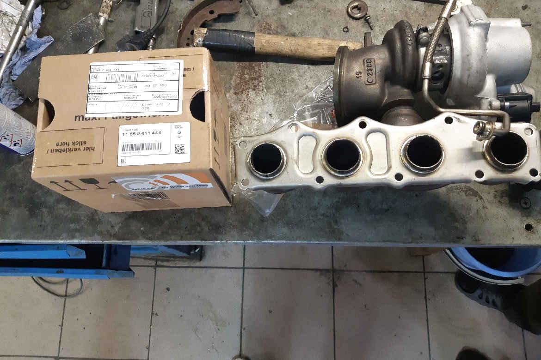 Замена турбокомпрессора BMW 520 I (двигатель N20)