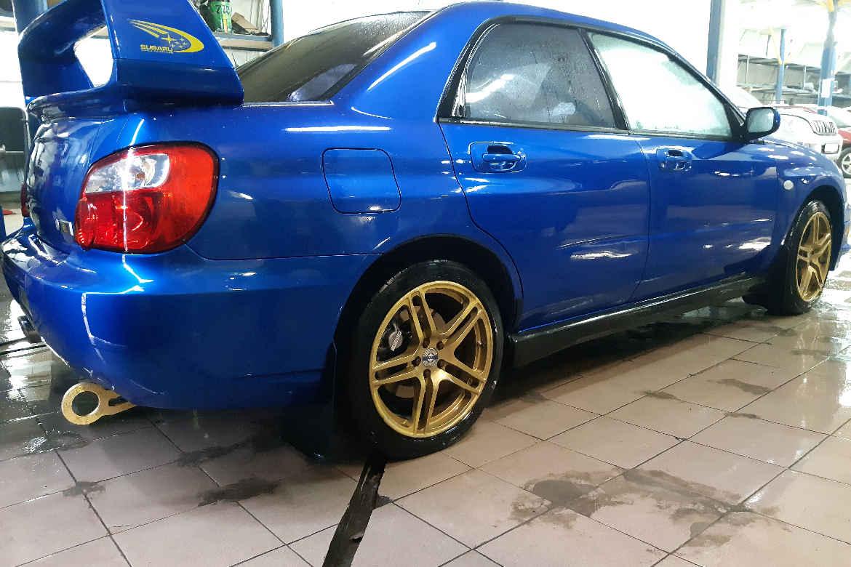 Покраска Субару Импреза Subaru Impreza