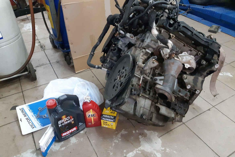 Замена двигателя на MAZDA MPV