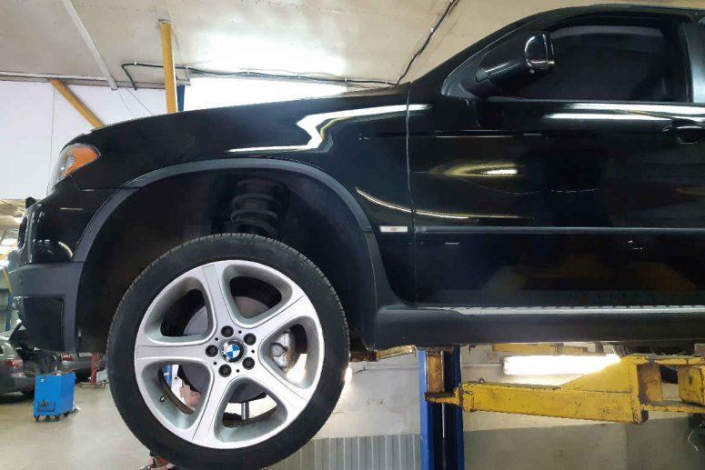 Замена прокладки поддона двигателя BMW X5