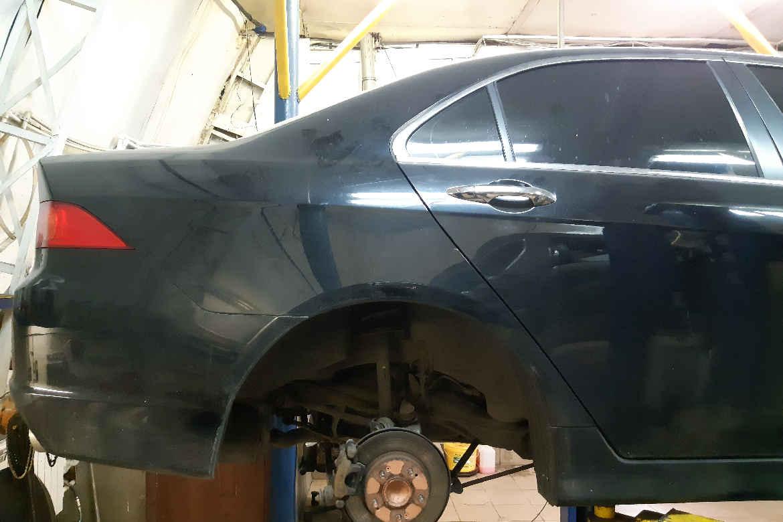 Honda Accord замена амортизаторов