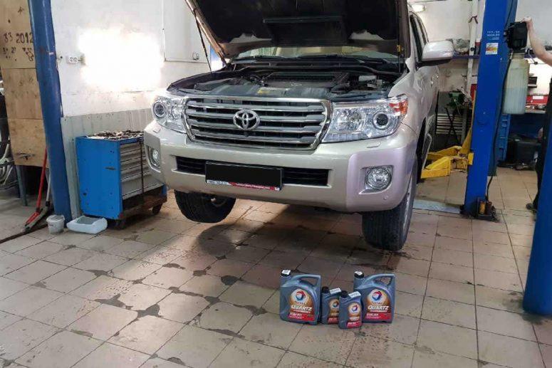 Техобслуживание Toyota Land Cruiser 200