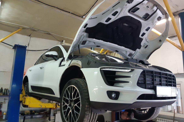 ТО Porsche Macan S
