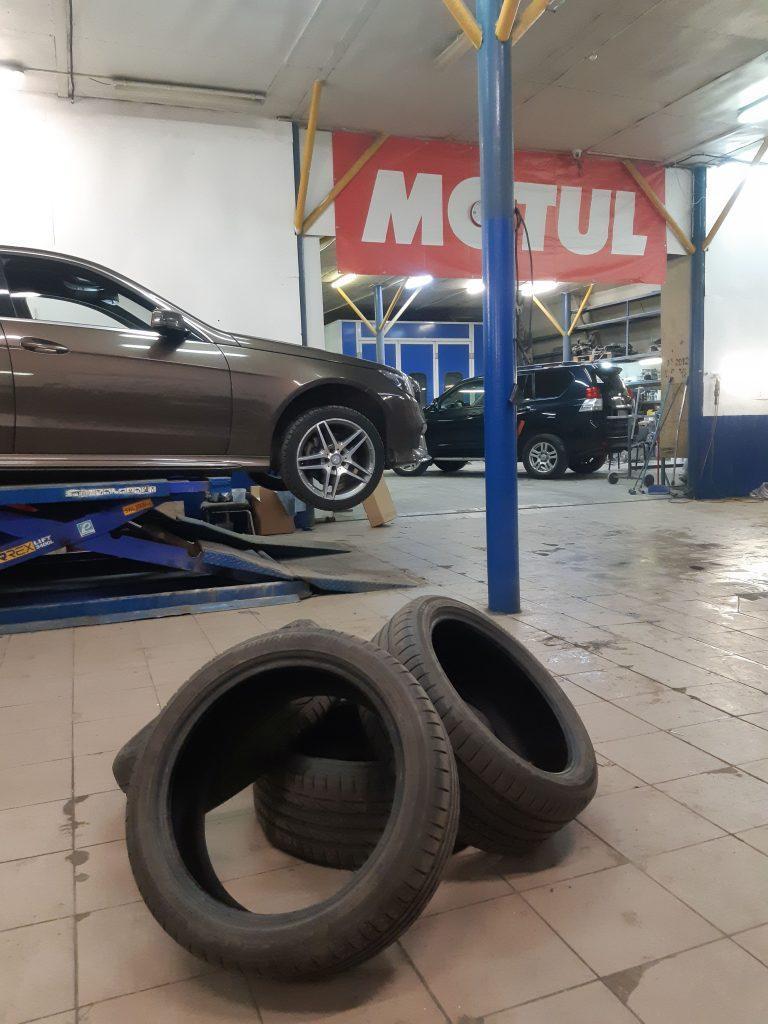 Демонтированные шины